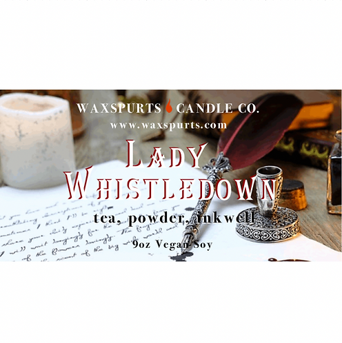 Lady Whistledown candles and wax melts