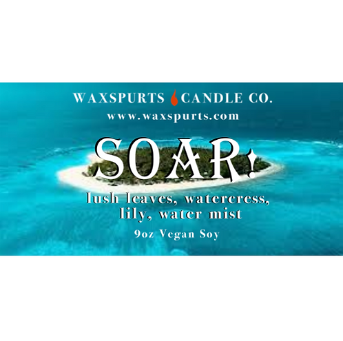 Soar! candles and wax melts