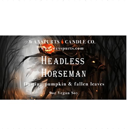 Headless Horseman inspired candles and wax melts