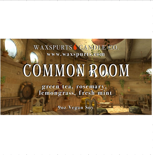 Yellow Common Room candles and wax melts