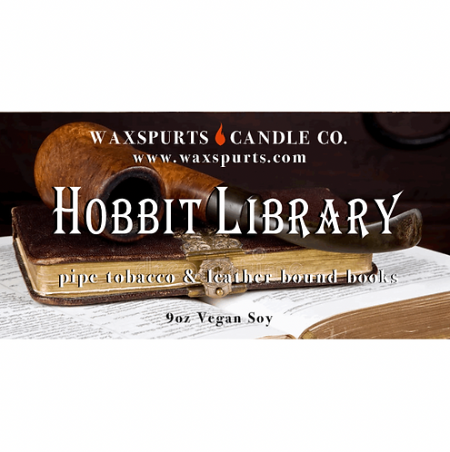 Hobbit Library candles and wax melts