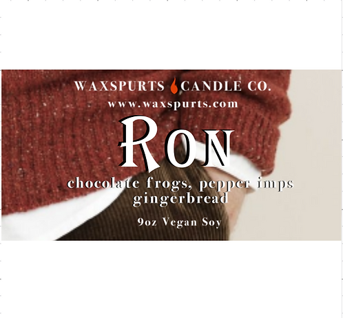 Ron candles and wax melts