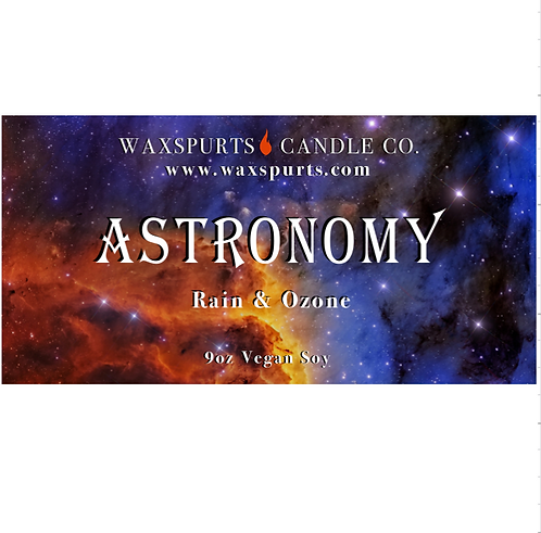 Astronomy candles and wax melts