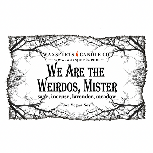 We Are the Weirdos, Mister - The Craft inspired candles and wax melts
