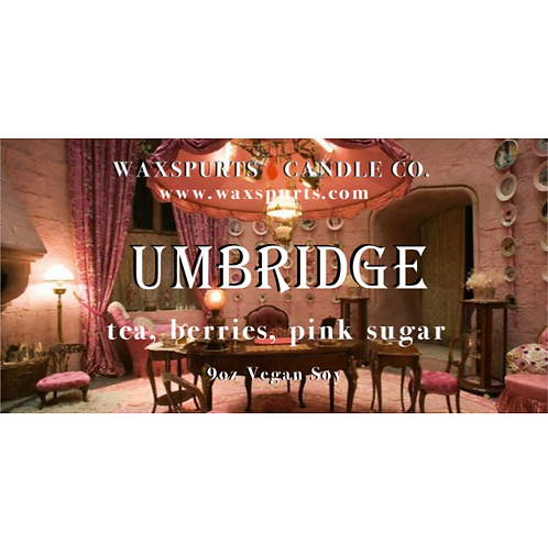 Umbridge candles and wax melts