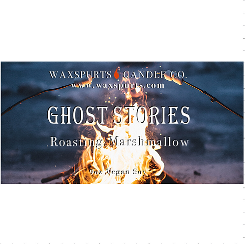 Ghost Stories candles and wax melt