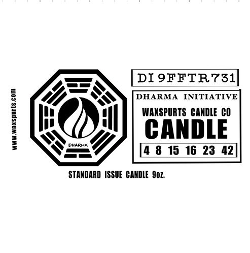 Lost Dharma candles and wax melts