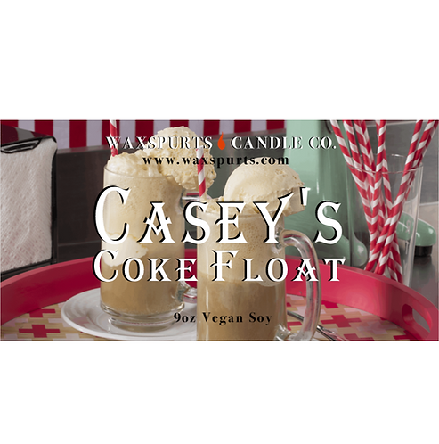 Casey's Coke Float inspired candles and wax melts