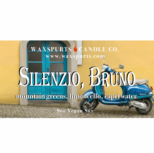Silenzio, Bruno candles and wax melts