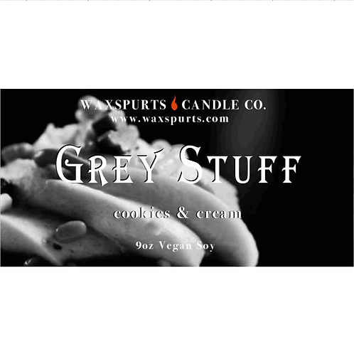 Grey Stuff BATB inspired candles and wax melts
