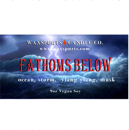 Fathoms Below candles and wax melts