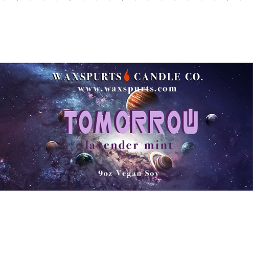 Tomorrow candles and wax melts