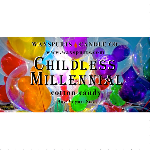 Childless Millennial candles and wax melts