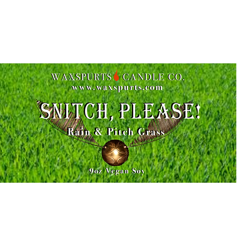 Snitch, Please! candles and wax melts