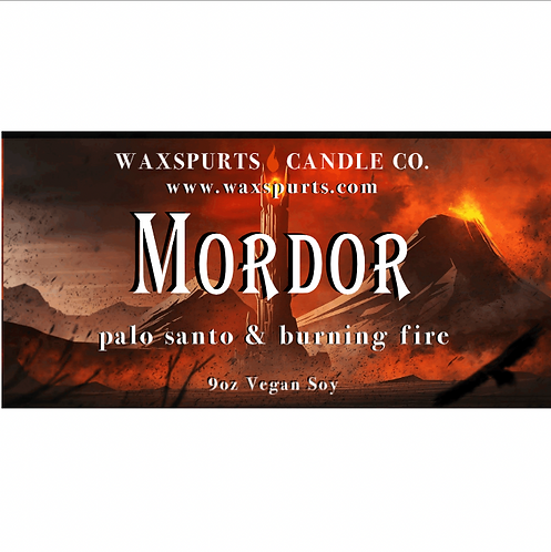 Mordor candles and wax melts