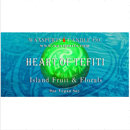 Heart of TeFiti candles and wax melts