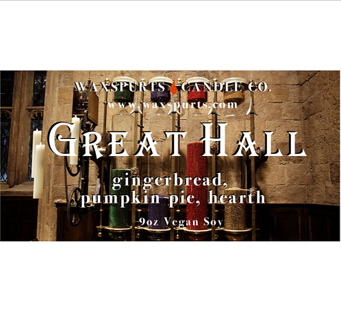 The Great Hall candles and wax melts