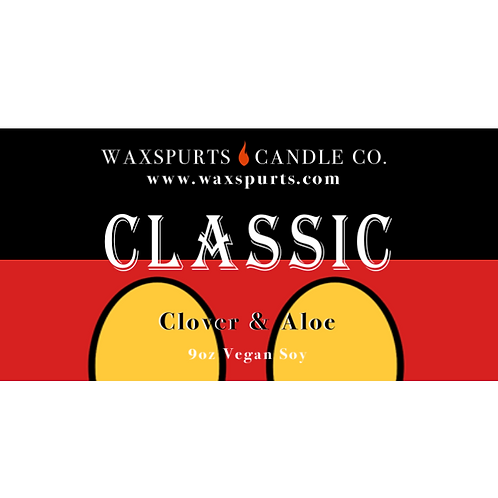 Classic candles and wax melts