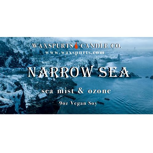 Narrow Sea candles and wax melts