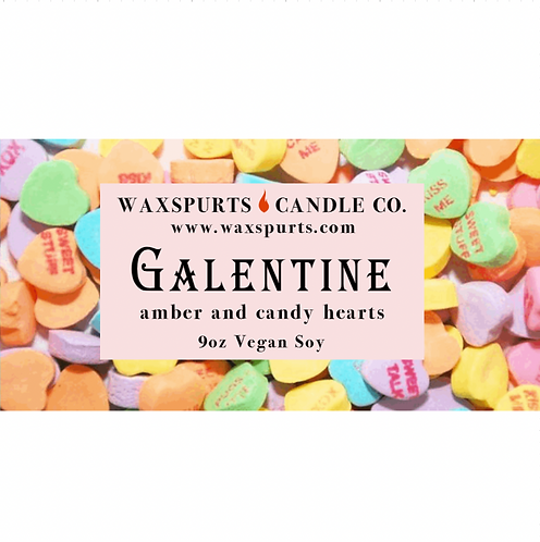 Galentine candles and wax melts