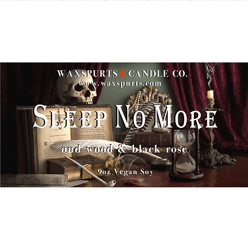 Sleep No More- Macbeth Broadway inspired candles and wax melts