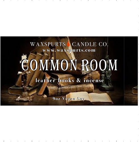 Blue Common Room candles and wax melts