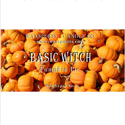 Basic Witch candles and wax melt