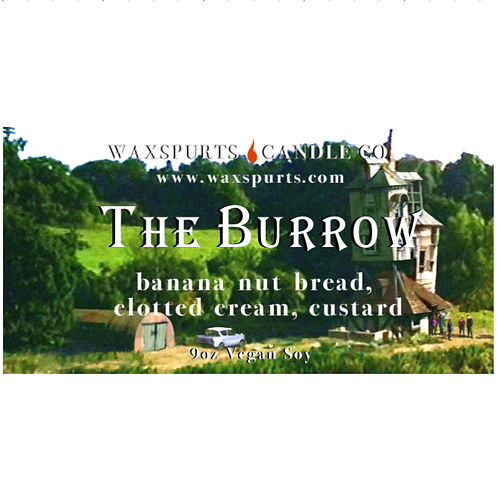 The Burrow candles and wax melts