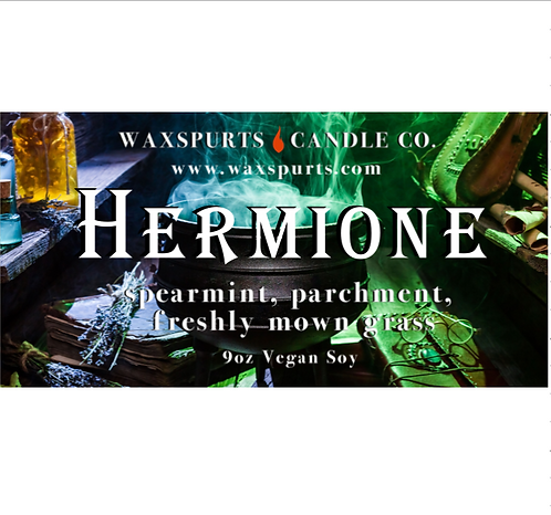 Hermione candles and wax melts