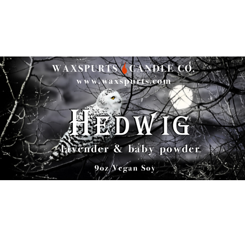 Hedwig candles and wax melts