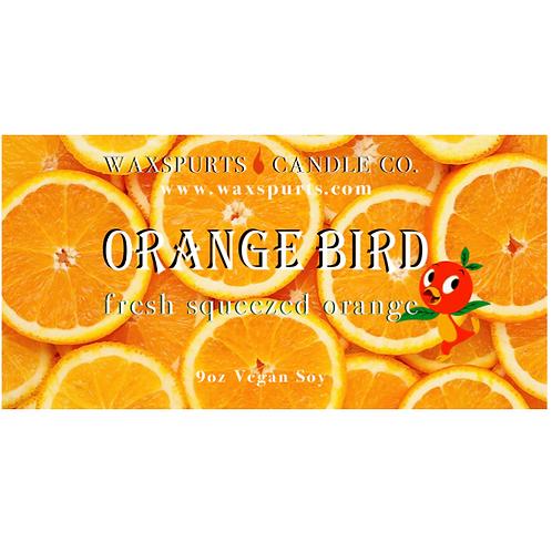Orange Bird candles and wax melts