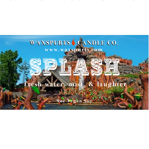 Splash candles and wax melts