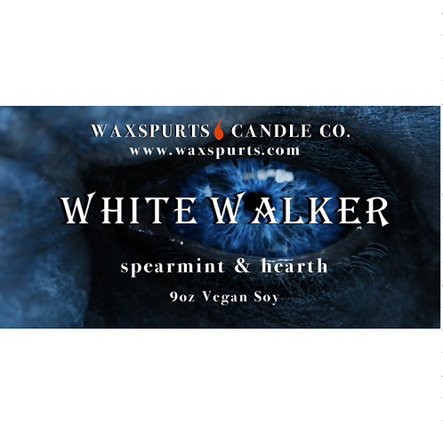 White Walker candles and wax melts
