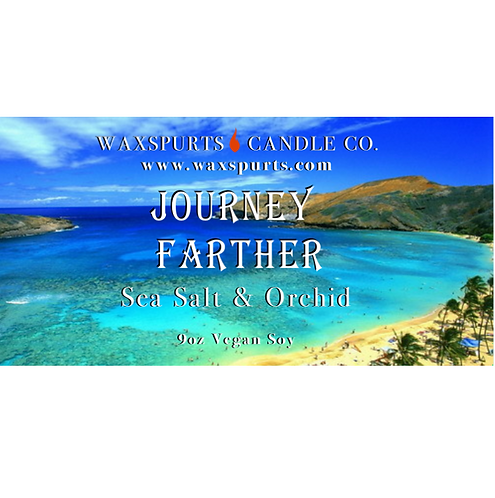 Journey Farther candles and wax melts