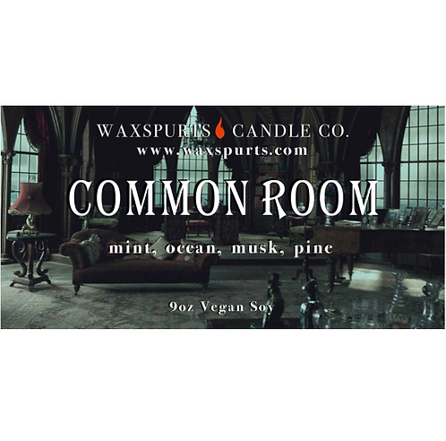 Green Common Room candles and wax melts