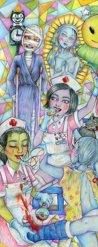 the nurses of Eris hospital