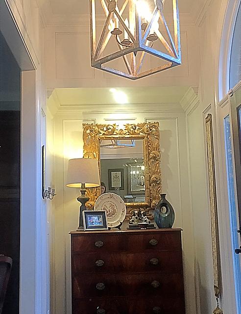 light stained trim melissakent foyer