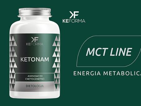 KETONAM: aminoacidi ottimizzati per la dieta chetogenica