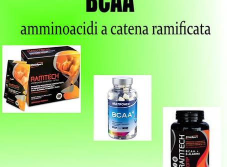 BCAA (AMMINOACIDI A CATENA RAMIFICATA) NELL'INTEGRAZIONE SPORTIVA