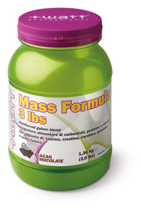 Mass Formula +Watt 3 Libbre
