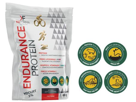 ENDURANCE PROTEIN: Ricostruzione muscolare e recupero metabolico