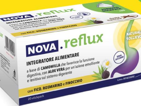 REFLUSSO GASTROESOFAGEO ? NOVA.reflux è la risposta naturale vincente