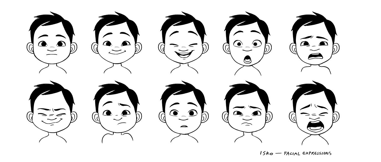Character_Isko_facialexpressions