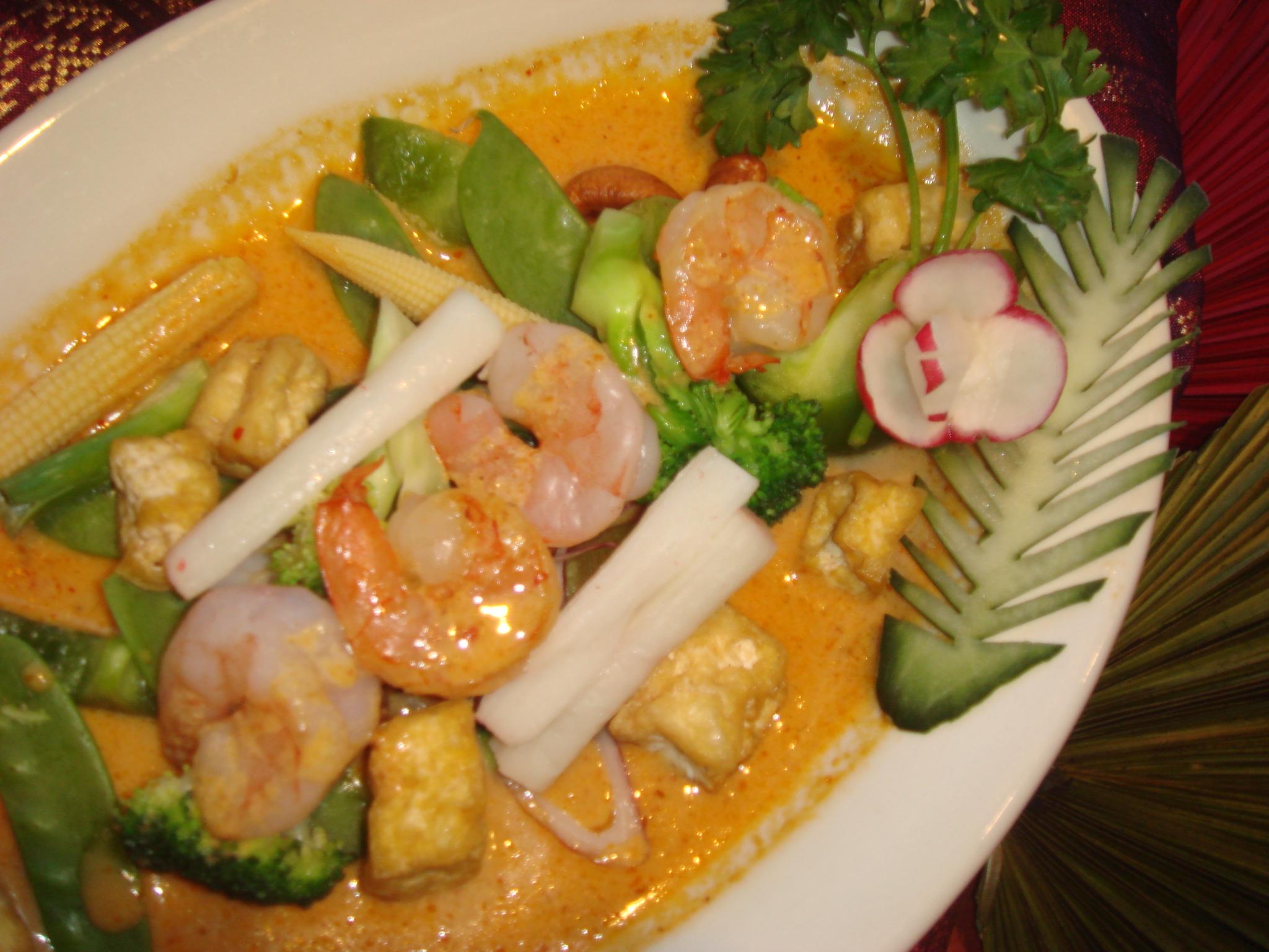 Pad Pak Curry