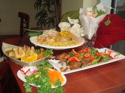 Pad Thai, Panang Duck, Crab Cheese