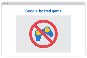 Detect and block Google-hosted games