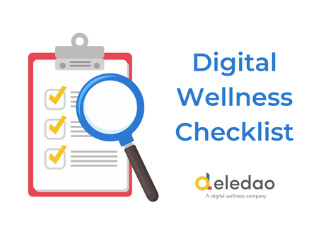 Digital Wellness Checklist