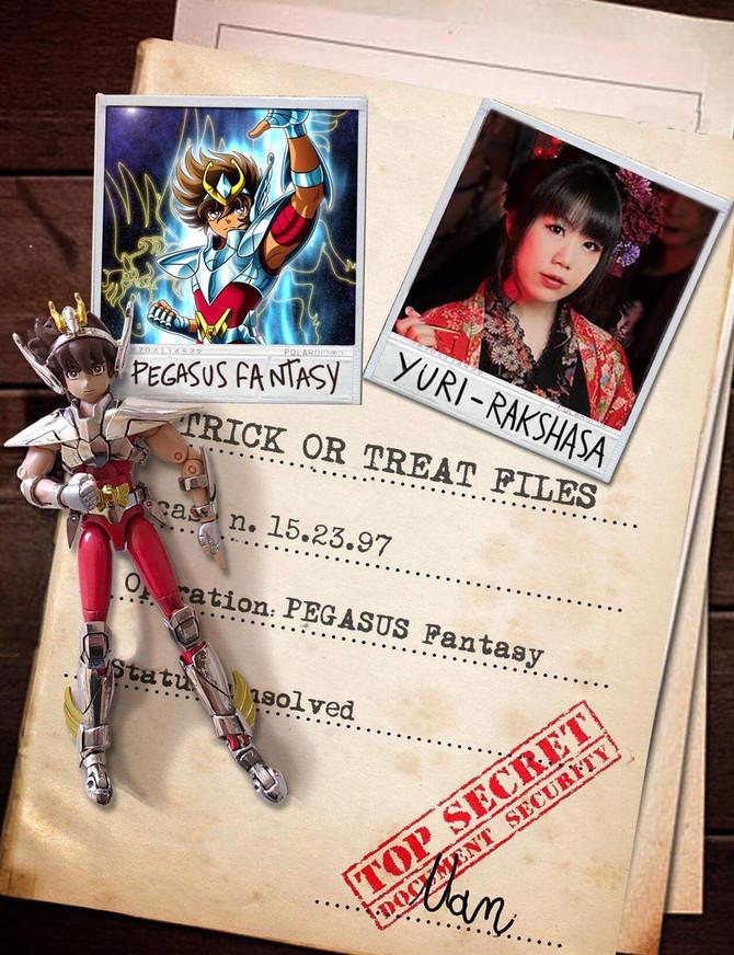 百合、Trick or Treatのカバーアルバムにゲスト参加!