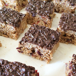 Better for You Rice Cereal Treat Bars