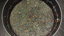 How to Make a No-bake Oreo Crust with Sprinkles!